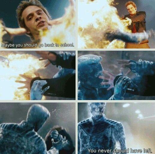 Iceman vs. Pyro. XMen the Last Stand. Tumblr. | MARVELous ...