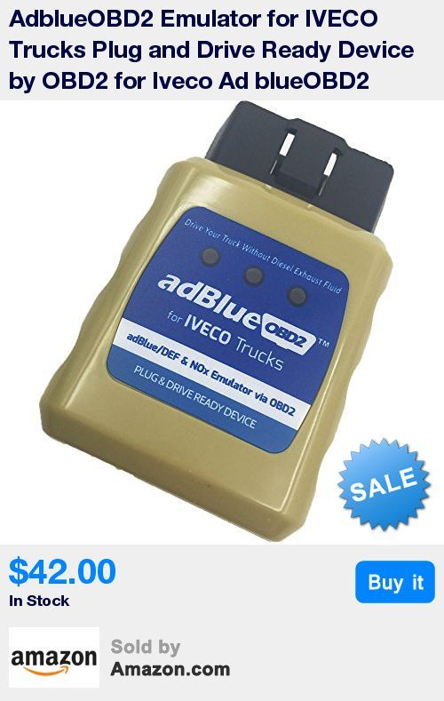 AdBlueOBD2 IVECO adBlue/DEF and NOx Emulator via OBD2 Plug and Drive Ready Device * Drive your truck without Diesel Exhaust Fluid * ADBlueOBD2 will override ADBlue system instantly, it will stop the usage of adBlue liquid and disable Nox sensors * Without any power loss of the engine or any warnings on the dashboard and in diagnostic system * AdBlueOBD2 is a Plug&Drive Ready device to mulate working adBlue systems and NOx sensors on trucks, which equipped with EURO 4/5/6 catalytic converter