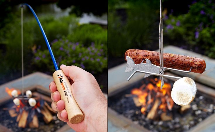 Campfire Fishing Rod $30 - OMG!! This combines the two things I love the most!!!
