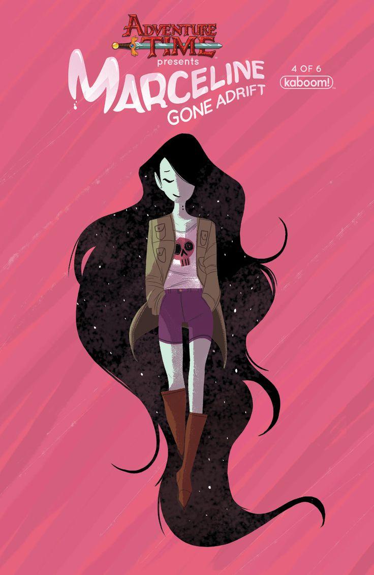Beautiful page from Adventure Time: Marceline Gone Adrift #3 | #adventuretime #marceline #illustration #ilustração #artedigital #digitalart