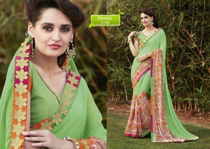 Sari Pakistani Bollywood Saree Ethnic Designer Wedding Partywear Indian Dress…