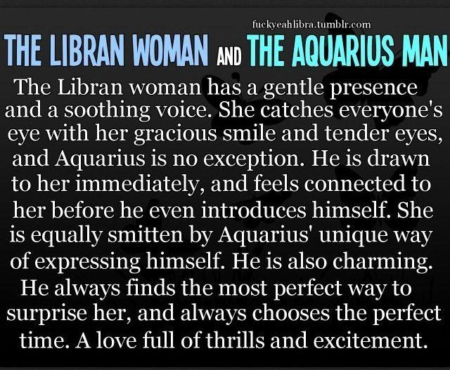 Libra/Aquarius love.