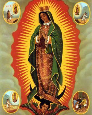 Beata Maria Vergine di Guadalupe http://gruppofamiglia.blogspot.it/2011_12_01_archive.html