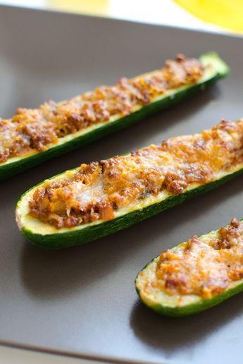 Gefüllte Zucchini ala DonGusto
