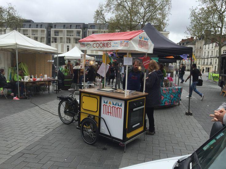 #vélo #FoodTruck de Mamm #Cookies  #pâtisserie
