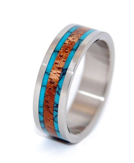 Minter + Richter | Unique Wedding Rings - Dock | Titanium Rings | Minter + Richter