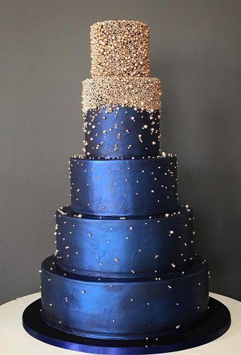 Elegant farbige Hochzeitstorten ★ Weitere Informationen: www.weddingforwar …   – I Thee Wed
