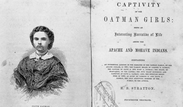 olive oatman and captivity narrative Philip taylor olive oatman and captivity narrative 9780273722090 0273722093 trading secrets - 20 hard and fast rules to 28-2-2015 in 1850 14-year-old olive oatman was captured during her.
