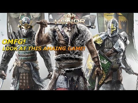 LOOK AT THIS AMAZING UPCOMING GAME!! (For Honour Beta Gameplay)