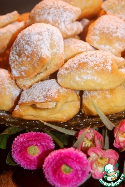 """Печенье """"Подушечки"""" - кулинарный рецепт"""