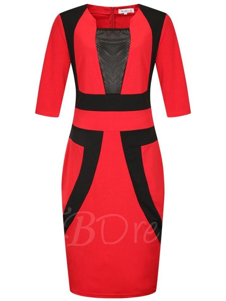tbdress tbdress color block plus size womens bodycon dress