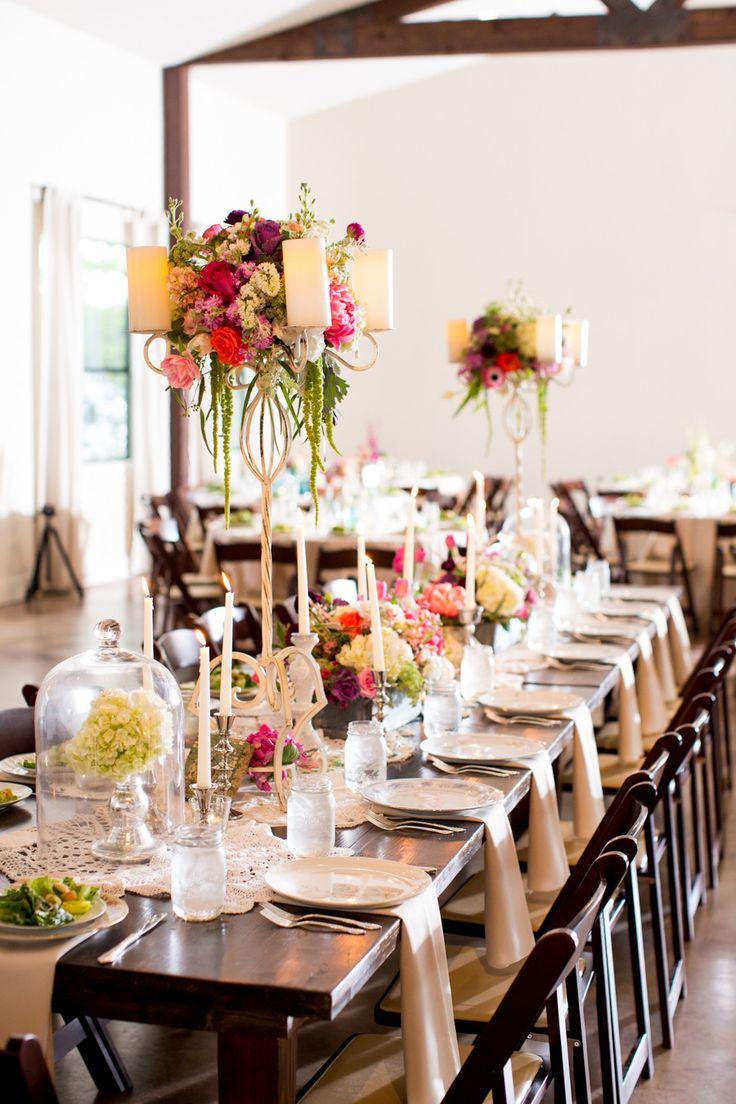 Casual Elegance Wedding Table Decor See The Wedding On