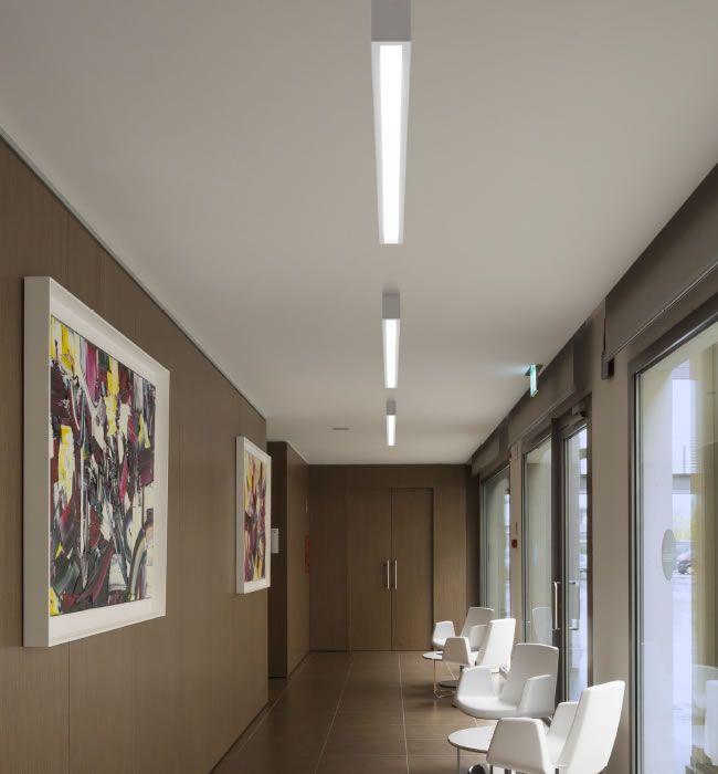 Box rettangolare Large - Linea Light - Applique - Progetti in Luce