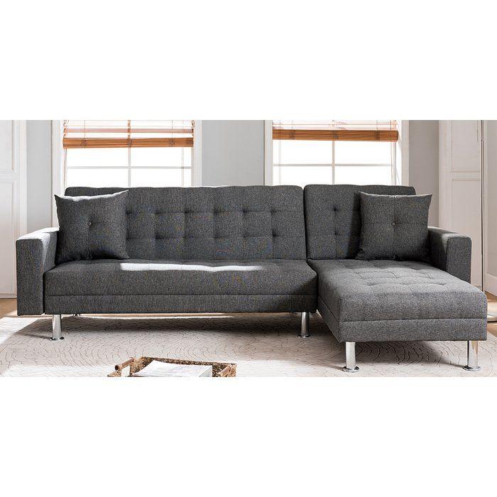 Paulin Reversible Chaise Sleeper Sectional Sectional Sofa Sectional Sofa Couch Sofa Bed Sleeper