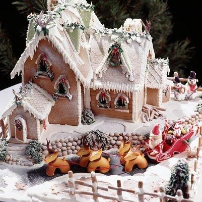 To make a gingerbread house with my friends, festive activities at a low cost #ChristmasWishes