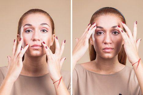 Omlazující cviky od čínských učitelů, kteří je praktikují po staletí, skutečně skvěle fungují.....1. Poklepávání obličeje  Konečky prstů obou rukou jemně poklepávejte celou plochu obličeje. Tím dojde k důkladnému prokrvení kůže. Díky tomu bude pleť lépe zásobena živinami a bude zdravější a napnutější. Počet poklepů je minimálně 100. Čínští lékaři doporučují spíše 200 až 300.