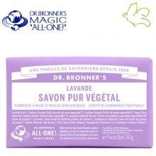 Dr. Bronner's Magic Soaps - Pain de Savon Pur Végétal Lavande Disponible dans l'e-shop www.officina-paris.fr #officina #paris #eshopping #beaute #pain #barsoap #vegetal #solide #cosmetiques #savon #douche #gel #liquide #bio #naturel #fairtrade #drbronner #drbronners #magicsoap #soap #organic #vegan #equitable #argrumes #orange #citrus #fresh #rose #peppermint #menthepoivree #amande #arbreathe #teatree #eucalyptus #lavande #bebe #doux #sansparfum #babycare