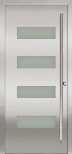 modern front doors by Milano Doors