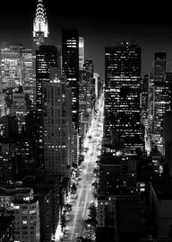 Piccsy :: Black-and-white-gifs:Manhattan (Cameron Michael)