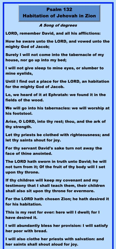 403.1 - Psalm 132 - Part 1