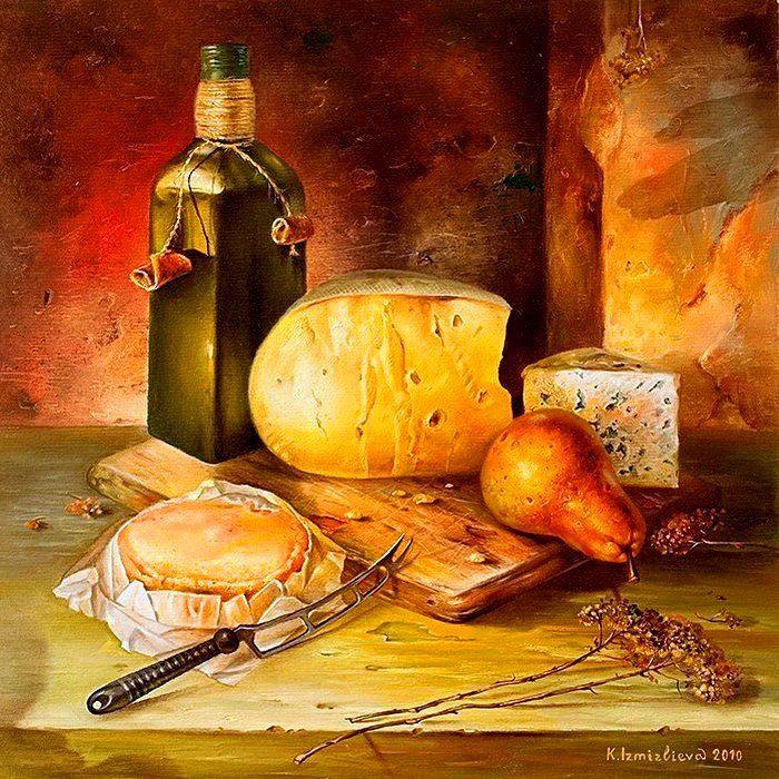 Картинки с сыром для декупажа