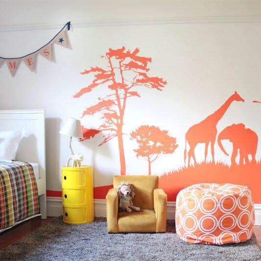 Les 25 meilleures id es concernant chambres d 39 enfants for Decoration chambre zoo