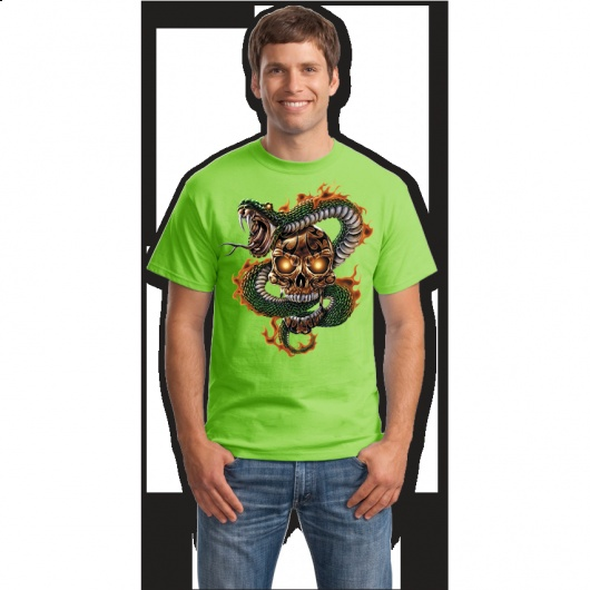 Snakes and skulls tricouri online