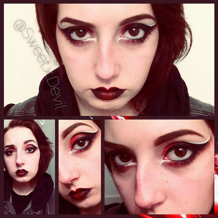 So I'm putting together a fem!Kylo Rena cosplay and I'm working on the makeup for it now. #makeup #eyeshadow #eyeliner #mascara #sephora #ultabeauty #katvond #katvondbeauty #toofaced #mividaloca #whiteeyeliner #urbandecay #costume #costumemakeup #cosplay #cosplaymakeup #starwars #theforceawakens #rebel #poedameron #hansolo #Chewbacca #convention #animeboston #kyloren #bensolo #genderbend #genderbent