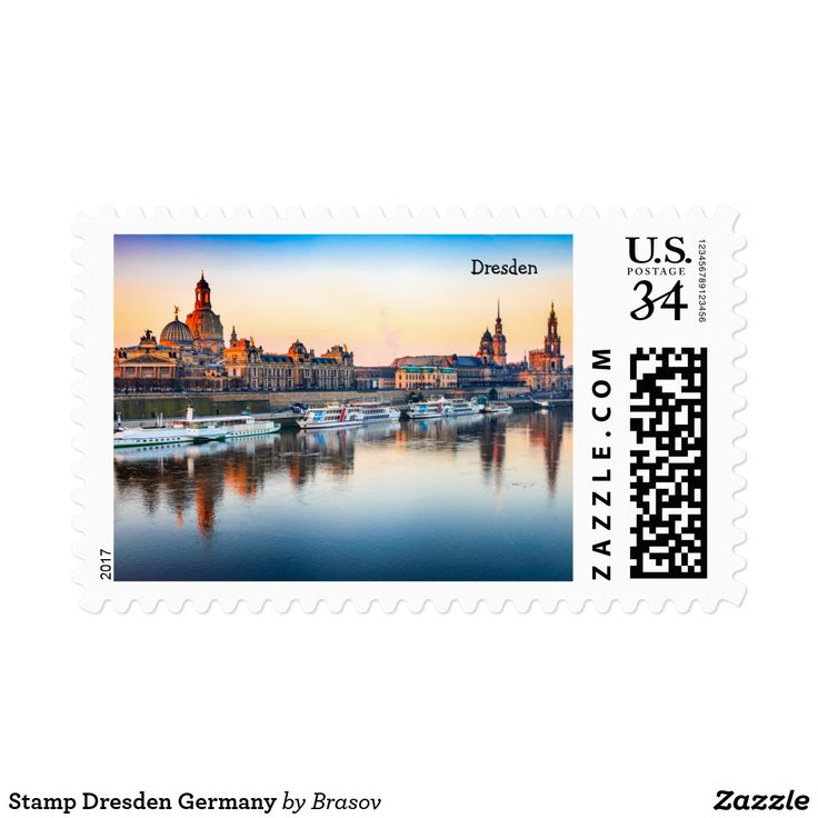 Stamp Dresden Germany