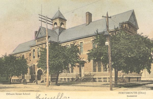 In 1891, a four-room schoolhouse was built on the corner of 12th and Offnere Streets. At a cost of $2,415, the school was named for an early physician,Dr. Jacob Offnere. The school closed in 1938 and the building went up for auction in 1943. It was sold for $450. The building was razed in 1943. The old Oberlings Auto building is presently in the location.