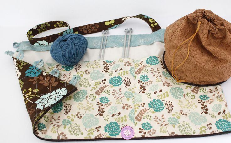 #bolsa #original #practica #labores #punto #lanas #agujas #costura #telas  #fabrics #knit #handmade #hechoamano