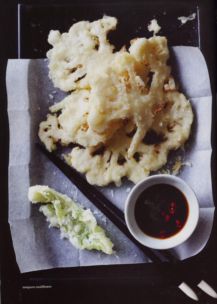 // tempura cauliflower