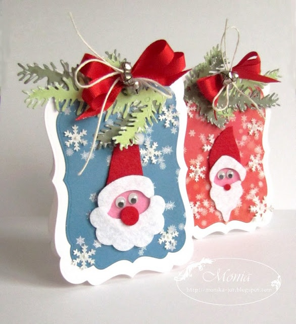Amazing Paper Craft Christmas Card Ideas Part - 7: Christmas Cards
