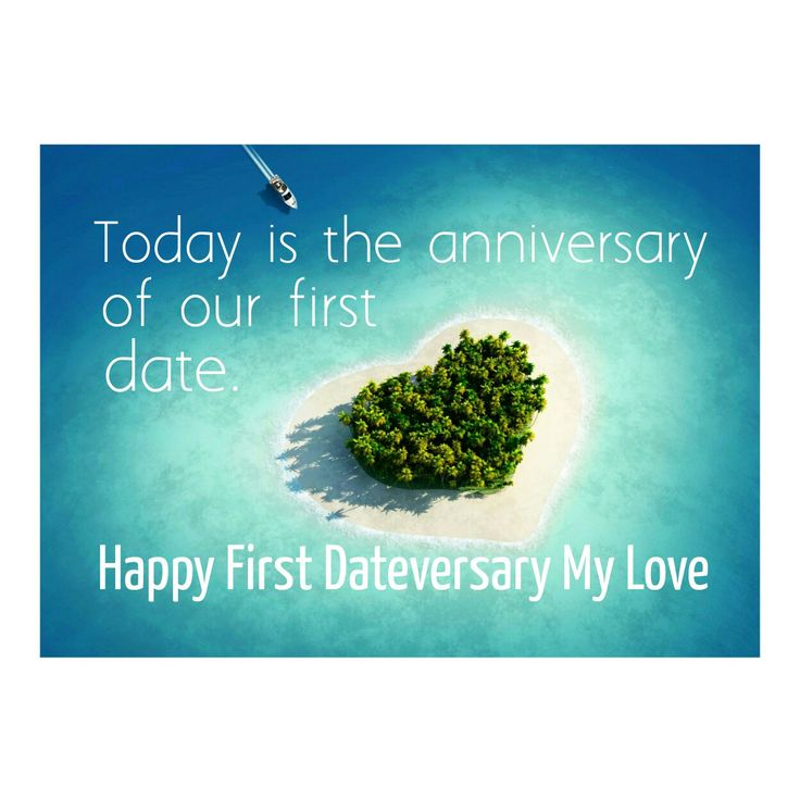 Today is the anniversary of our first date.  Happy Dateversary my love. X ♥️ X