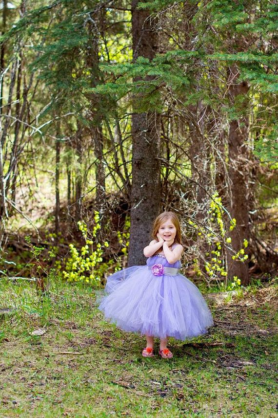 gray and lavender tutu dress with handmade by victoriastutus