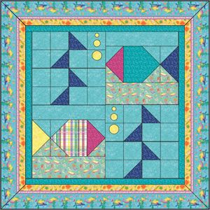 669 Best Images About Fish Quilts Sealife On Pinterest