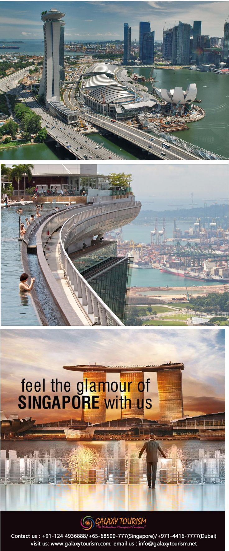 Singapore Marina Bay Sands Skypark is very Popular attraction for travelers. Galaxy Tourism giving opportunity to visit Skypark at very discounted rate. Book Now.... http://goo.gl/4jbaVb