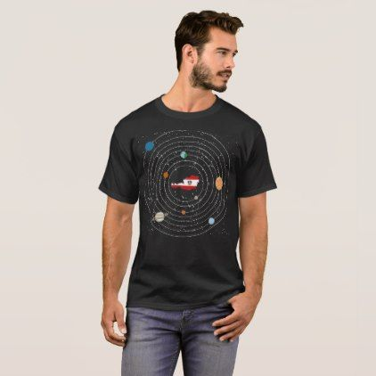 #country - #Austria Country In Solar System Pride Tshirt