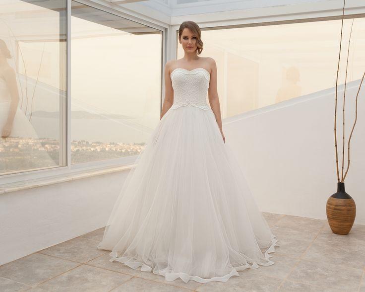 straplez-askısız gelinlik modelleri 2016-taş işlemeli straplez,askısız gelinlikler-nova bella nişantaşı