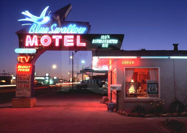 lost toronto: The Blue Swallow Motel/Tucumcari New Mexico