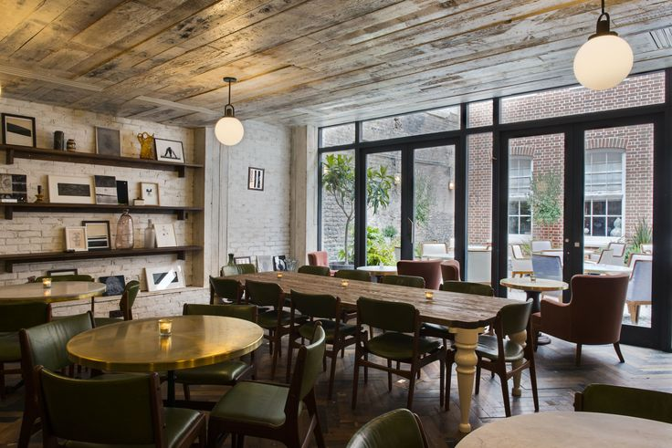 restaurant design | Soho House | 76 Dean Street