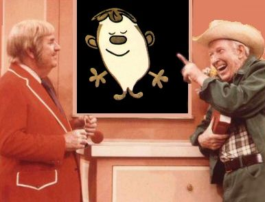 TV show Captain Kangaroo - loved the Captain & Mr. Green Jeans AND I really loved it when the squiggly man was on, but I cannot remember his name!