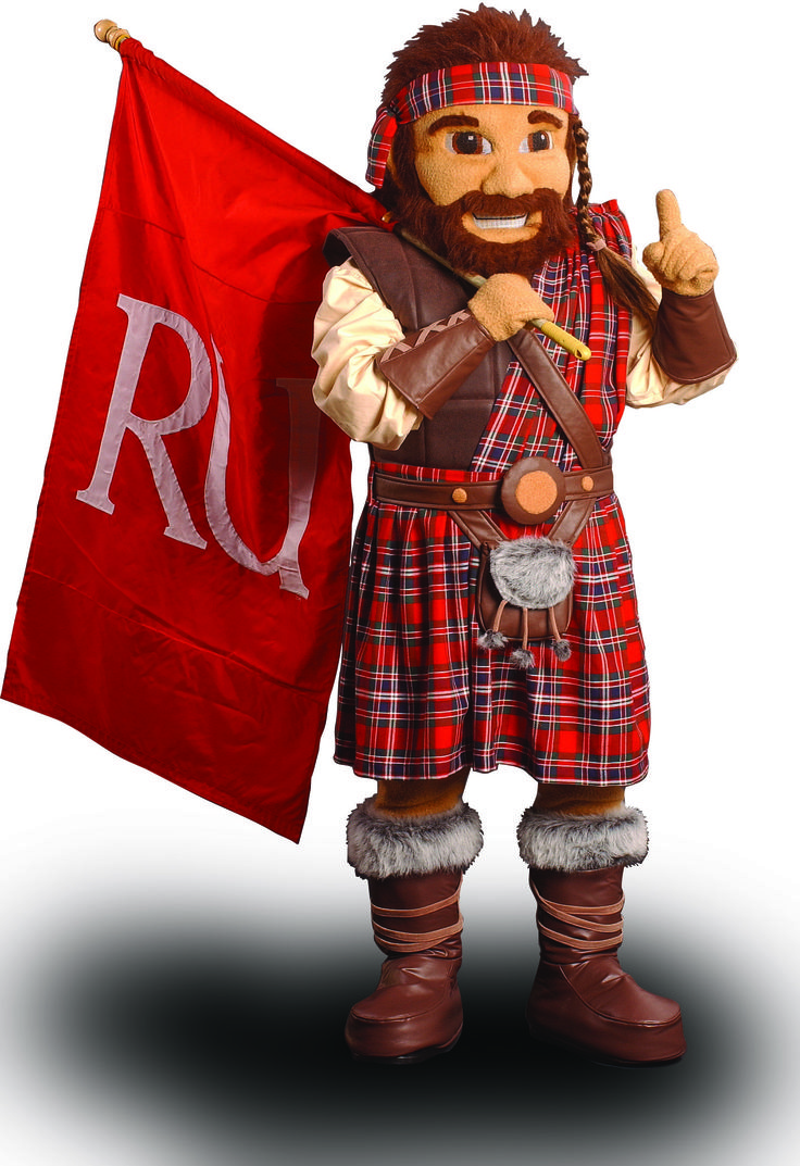 The Highlander is the official mascot of Radford ...