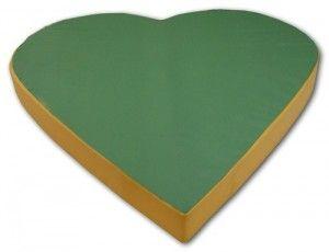 Materac serce 150x150x15cm