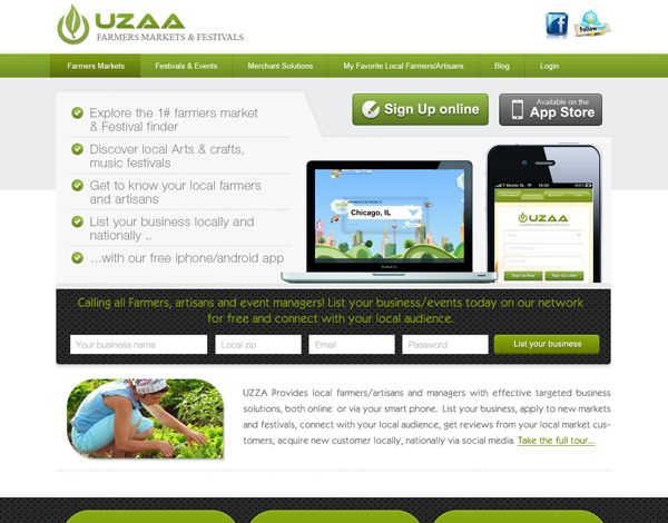 Free Agriculture Template PSD