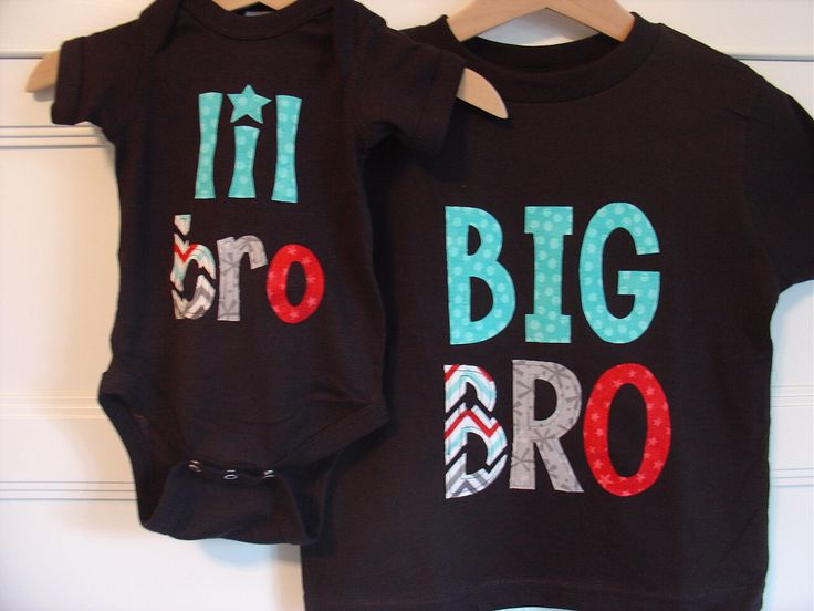 Big Brother Little Brother Matching Shirt and Onesie - Black, Celebration Chevron by TheMommaFish on Etsy https://www.etsy.com/listing/150086013/big-brother-little-brother-matching