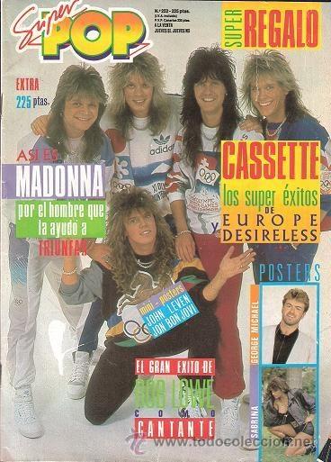 La revista superpop, con posters y pegatinas ibamos todos a clase con las carpetas tuneadas jaja