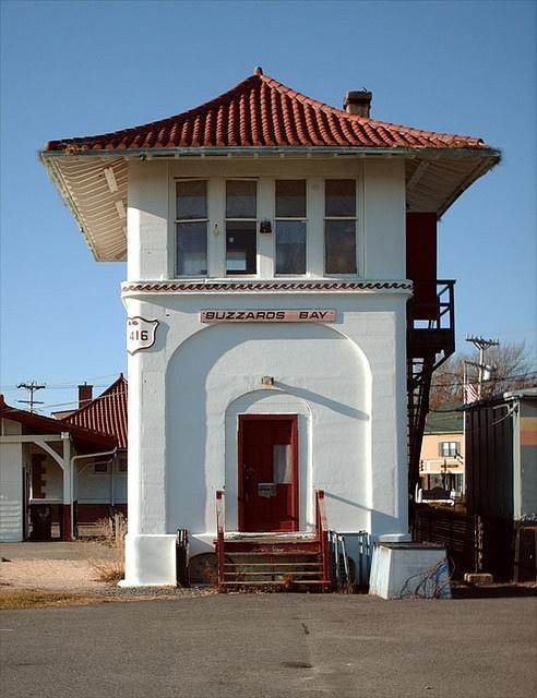 Vintage Buzzards Bay Train depot