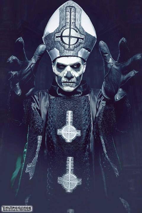 Papa Emeritus II | METAL UP YOUR ASS | Pinterest