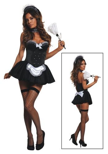 126 best costume ideas images on pinterest maid french maid and womens seductive maid costume solutioingenieria Gallery